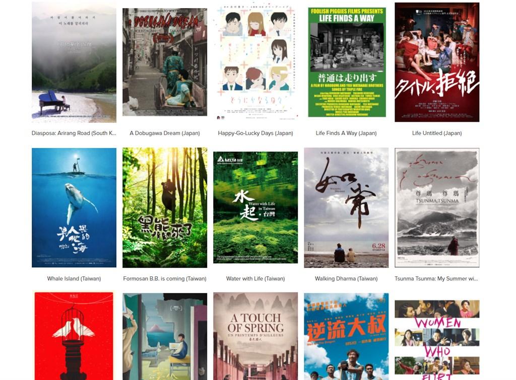 5部在北美首映的台灣紀錄片,將在9月22日至26日於第11屆芝加哥亞洲躍動影展上播映,美國觀眾可上線觀看。(圖取自芝加哥亞洲躍動影展網頁www.asianpopupcinema.org)