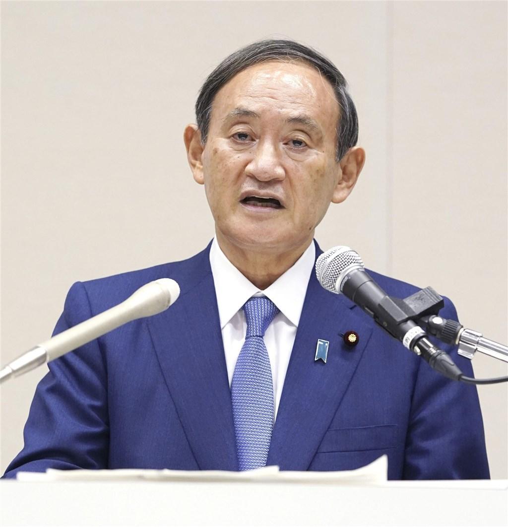 日本內閣官房長官菅義偉投入自民黨總裁(黨主席)選舉,有望成為日本下屆首相。(共同社)