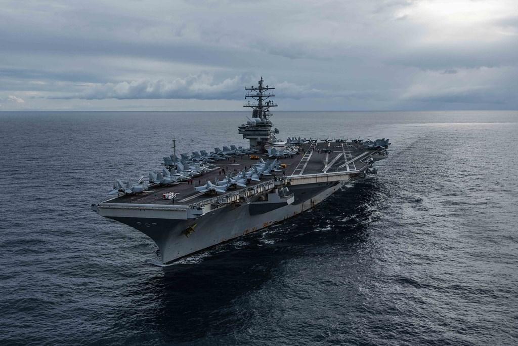 美國海軍第7艦隊發言人莫姆森中校5日向「星條旗報」證實,雷根號航空母艦(圖)有「少數」士兵確診武漢肺炎,隨即接受治療並下船。(圖取自美國太平洋艦隊網頁cpf.navy.mil)
