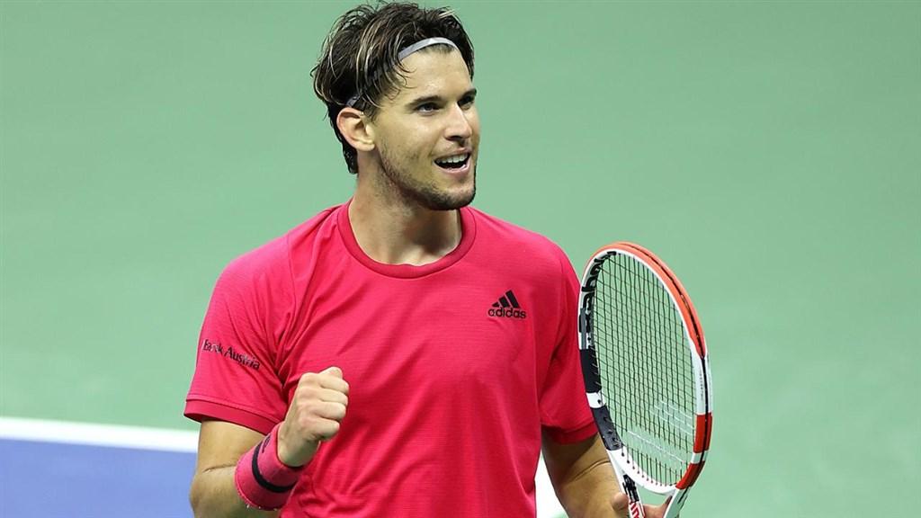 奧地利男網好手提姆11日大展身手,挺進美國網球公開賽男單決賽。(圖取自twitter.com/usopen)
