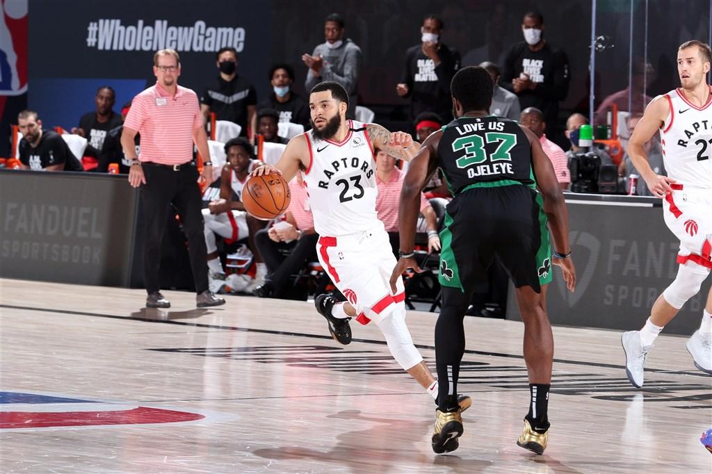 NBA美國職籃衛冕軍多倫多暴龍,12日在季後賽次輪搶七大戰,以87比92不敵塞爾蒂克無緣東部決賽。(圖取自twitter.com/Raptors)