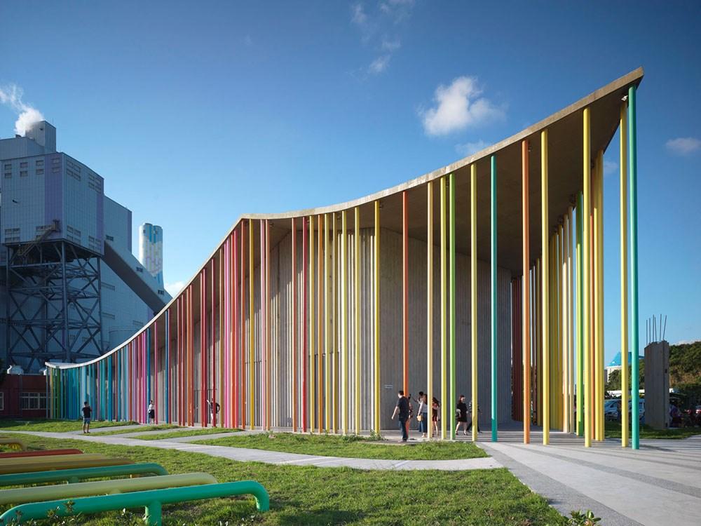 新北市下福里市民活動中心獲得「2020國際建築獎」。