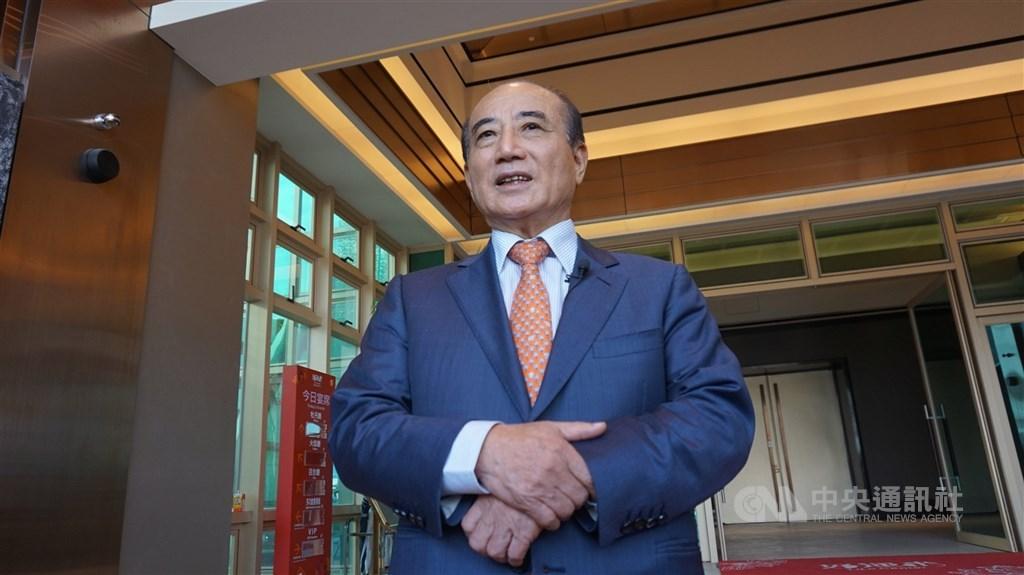 對於是否參加海峽論壇,王金平13日表示,中央黨部14日晚上會做最後決定。(中央社檔案照片)