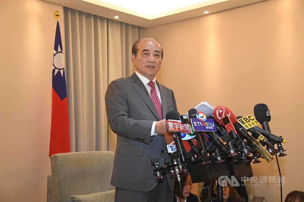 「央視頻」稱前立法院長王金平參加海峽論壇是「求和」,引發國民黨內反彈。國民黨14日表示,不以政黨形式參加。(中央社檔案照片)