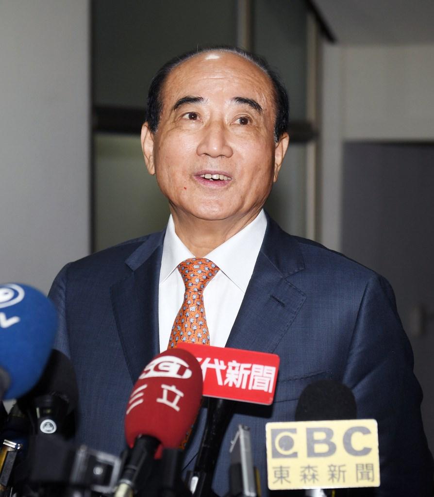 前立法院長王金平表示,他早就跟黨中央明確表達,如果黨決定不參加海峽論壇,他就不去。(中央社檔案照片)