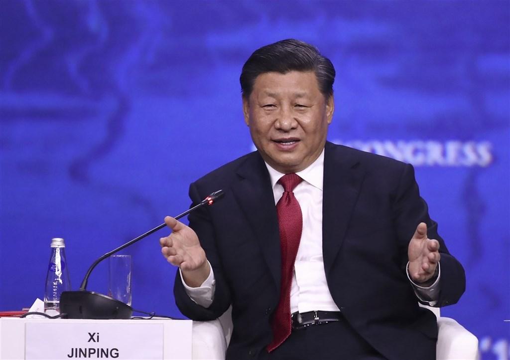 中國國家主席習近平14日在歐中峰會上遭遇質疑,新華社報導,習近平說,涉港涉疆問題實質是維護中國國家主權、安全、統一,中方堅決反對任何國家干涉中國內政。(中新社)