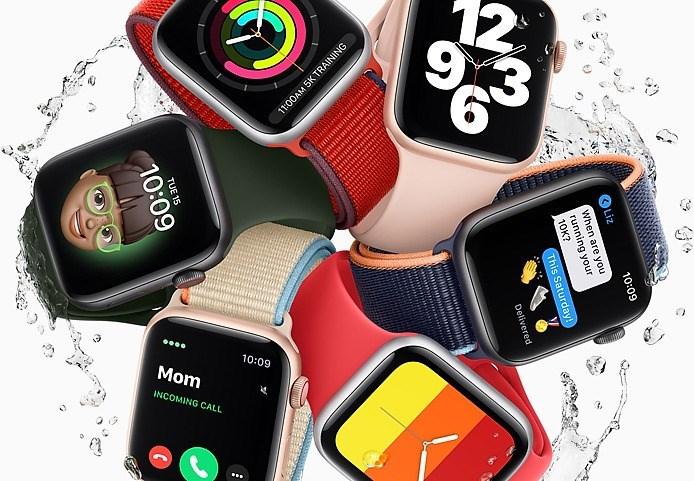 蘋果Apple Watch SE支援「家人共享設定」。(圖取自蘋果公司網頁apple.com/tw)
