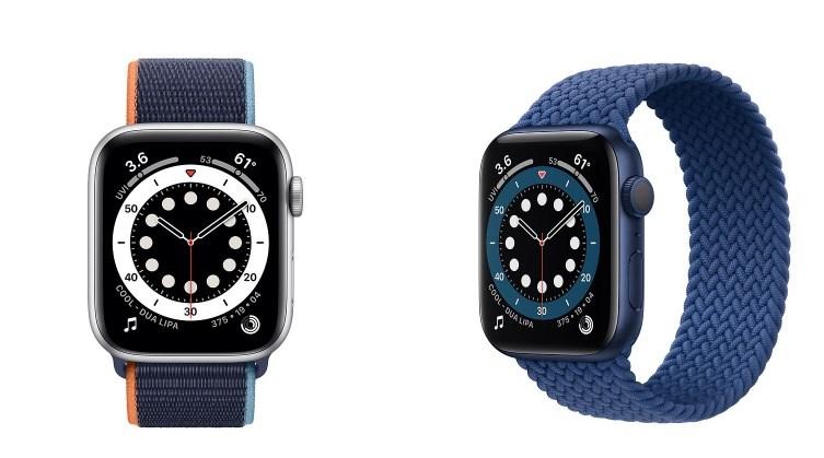 外媒分析Apple Watch series 6處理器和電池效能更佳,且能更精確量測空間。(圖取自蘋果公司網頁apple.com)
