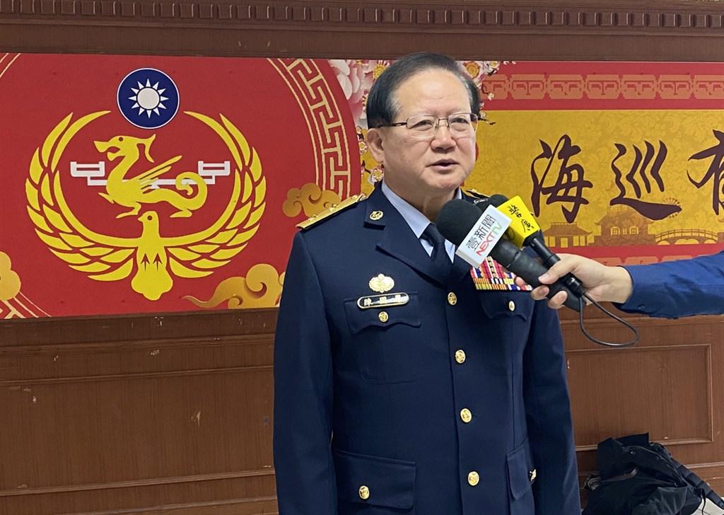 海巡署署長陳國恩17日發布聲明表示,因個人家庭因素申請提早退休。(中央社檔案照片)