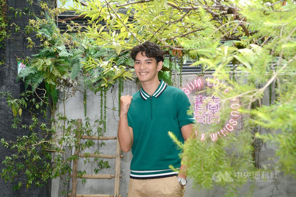 22歲新人演員劉韋辰以人氣同志劇HIStory3「那一天」,入圍第55屆金鐘獎戲劇節目最具潛力新人獎,這是他第一部戲劇作品。(LINE TV提供)中央社記者葉冠吟傳真 109年9月17日