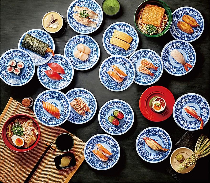 藏壽司在台受到歡迎,美食達人觀察,台灣人飲食文化「哈日」,也喜歡讓人充滿期待感的扭蛋遊戲。(藏壽司提供)中央社記者江明晏傳真 109年9月13日