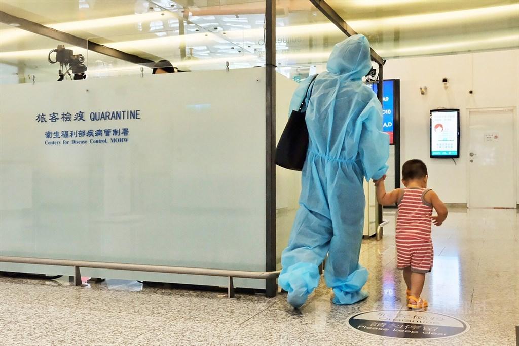 疫情指揮中心19日宣布,新增3例武漢肺炎境外移入病例。圖為桃園機場檢疫站。(中央社檔案照片)