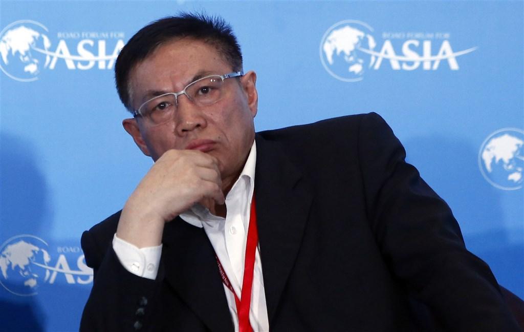 前北京市華遠集團有限公司董事長任志強遭控貪汙、受賄,一審判刑18年,罰款人民幣420萬元。(中新社)