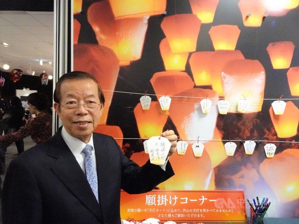 對於駐日代表謝長廷(圖)等人被當地媒體稱為大使,行政院長蘇貞昌25日說,派駐代表所在的駐在國,越來越會把駐處的名稱改為台灣,這符合事實也是正向發展。(中央社檔案照片)