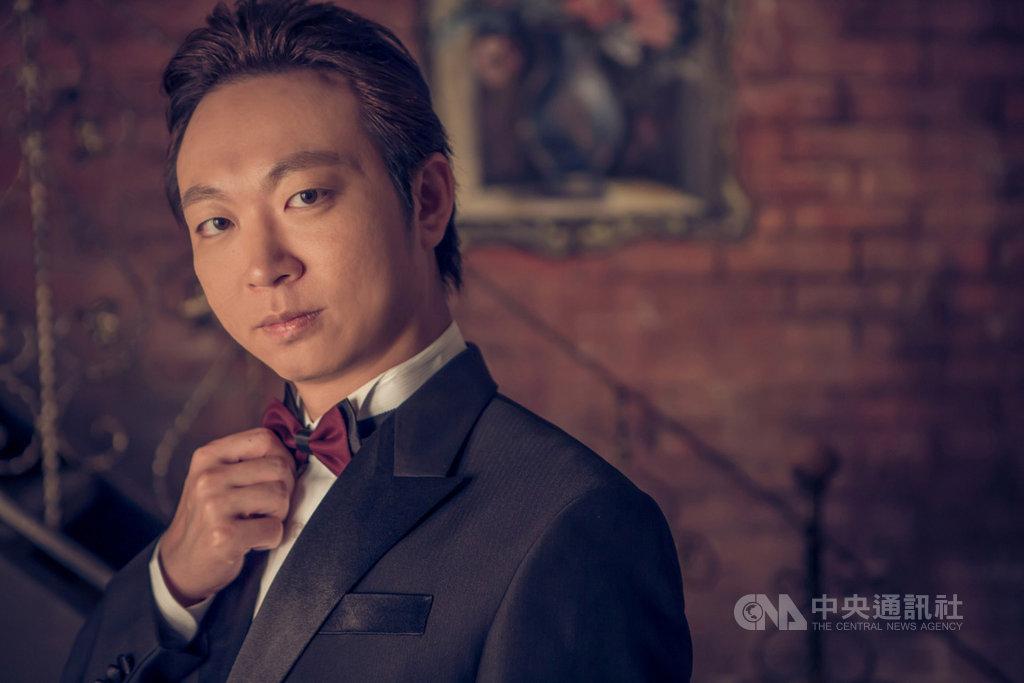 男中音趙方豪將於10月7日在台中國家歌劇院舉行「回到愛」獨唱會,除了展現他喜愛的德國藝術歌曲外,也將演唱台灣少見的俄語作品。(趙方豪提供)中央社記者趙靜瑜傳真 109年9月25日