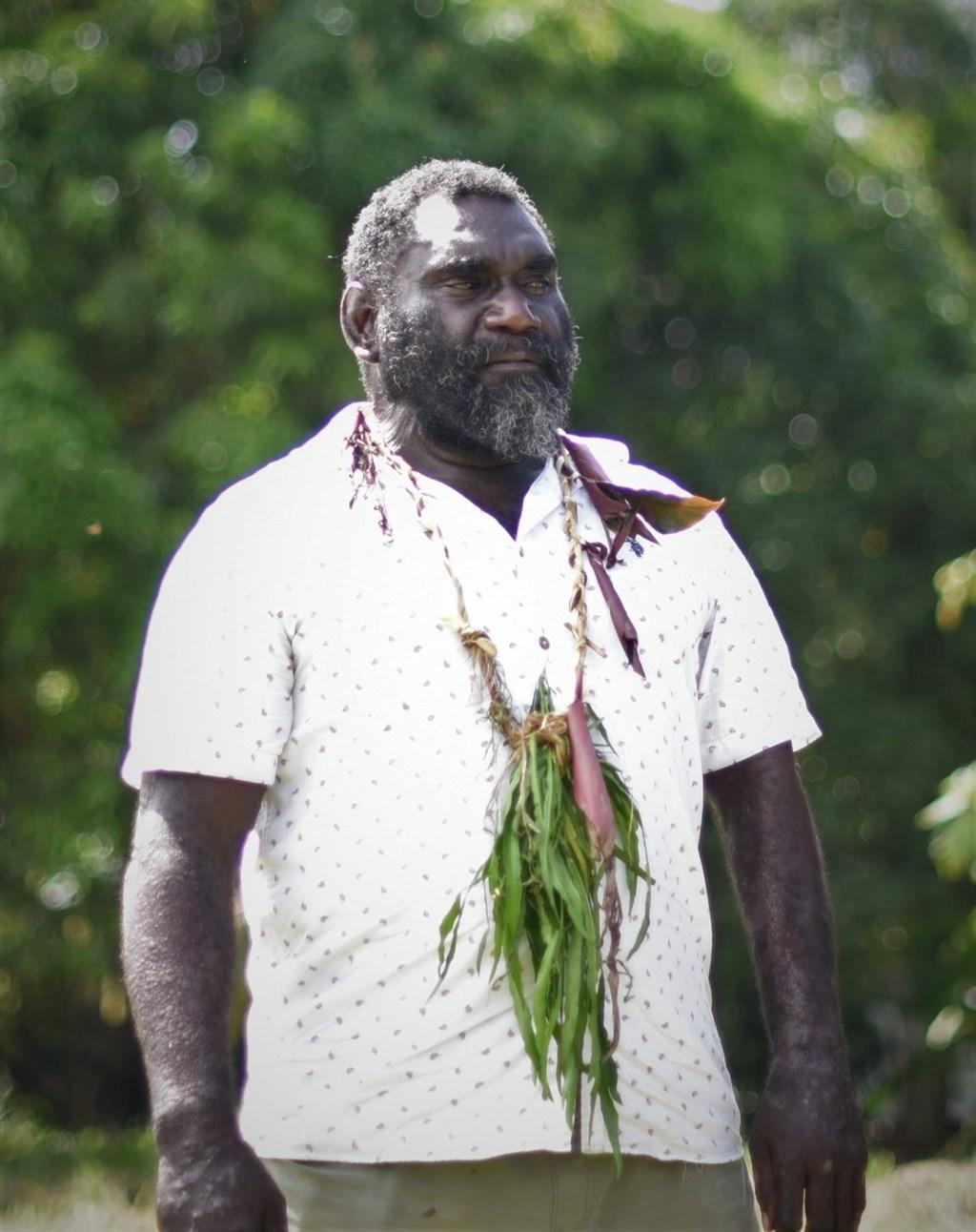 巴布亞紐幾內亞自治區布干維爾前叛軍指揮官托羅亞瑪23日當選自治區首長,將推動獨立。(圖取自facebook.com/ISHMAELTOROAMAforPRESIDENT)
