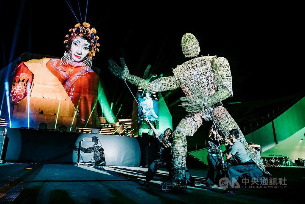 10月登場的2020台灣設計展「城市擾動展演」,除定期劇場式表演,還有充滿驚喜的街頭表演。(新竹市政府提供)中央社記者魯鋼駿傳真 109年9月27日