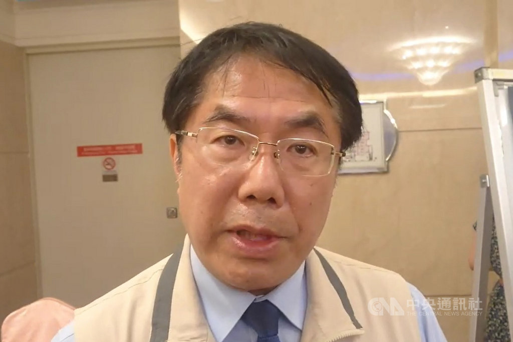 台南市長黃偉哲27日表示,「全球氣候與能源市長聯盟」擅自更改台灣國名且改變會員資格,無法理解也難以接受這種走時代逆流的做法,希望市長聯盟再好好思考。中央社記者楊思瑞攝 109年9月27日
