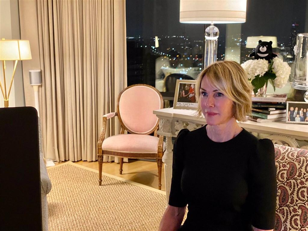 美國駐聯合國大使克拉夫特(圖)公開為台灣發聲,直指沒有台灣充分參與的聯合國是在欺騙世界,總統蔡英文及駐美代表蕭美琴都推文回應感謝她。(圖取自twitter.com/USAmbUN)