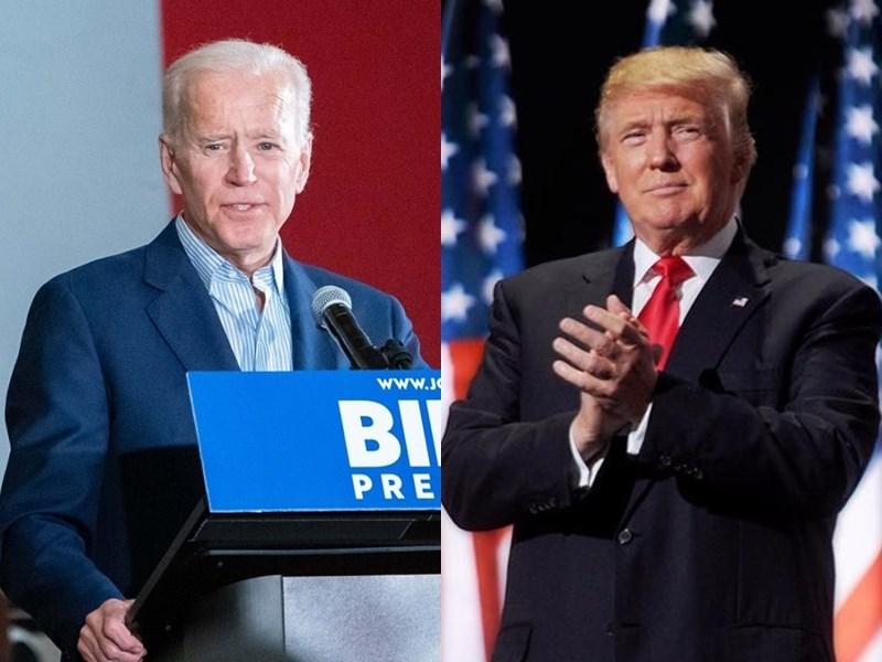美國總統大選首場辯論會將於美東時間29日晚間登場,現任總統共和黨候選人川普(右)和民主黨對手拜登(左)將首次同台較量。(右圖取自facebook.com/DonaldTrump;左圖取自facebook.com/joebiden)