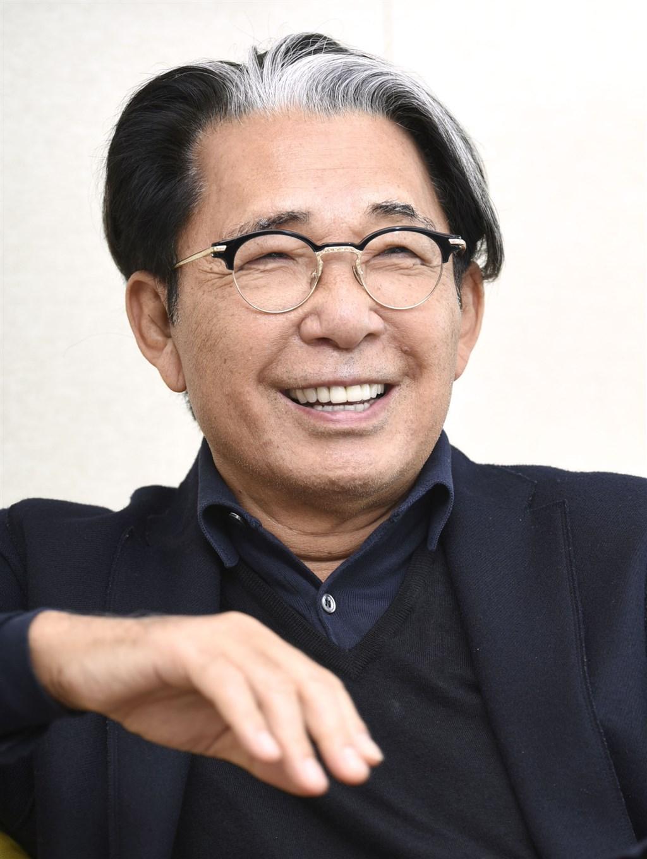 日本創立著名時尚品牌KENZO的高田賢三因感染武漢肺炎病逝,享壽81歲。(共同社)