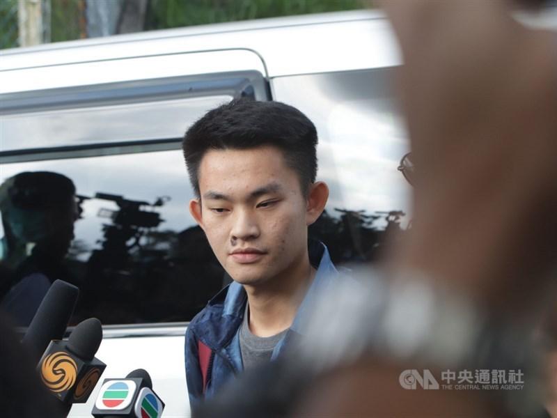 香港警方表示,若陳同佳(圖)原則上獲台灣批准入境,港台可透過警務合作機制研究安排赴台行程;但也重申兩地沒有司法互助機制。(中央社檔案照片)