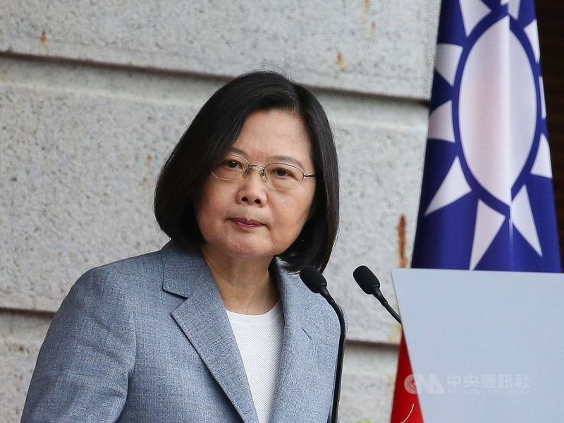 蔡英文双十国庆演说 强调有决心维持两岸关系稳定