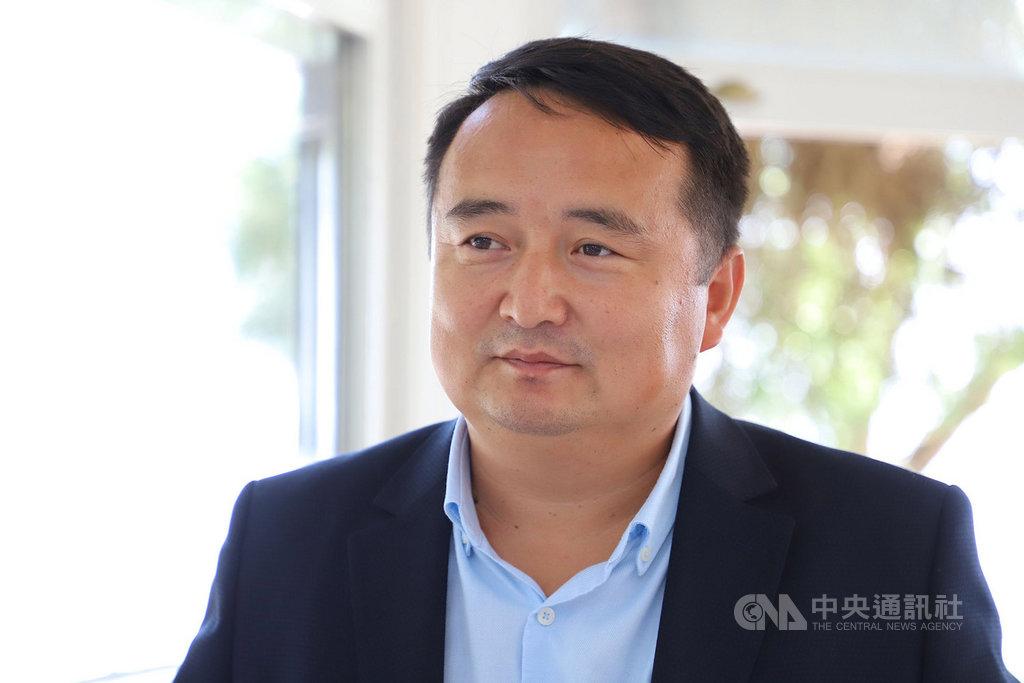 哈薩克人權組織創辦人賽爾克堅(圖)9月27日受訪指出,逾50萬哈薩克人遭拘禁在新疆「再教育營」中。這個組織長期協助被害人家屬作證控訴中共迫害。中央社記者何宏儒伊斯坦堡攝 109年10月14日