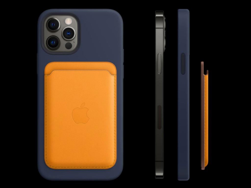 蘋果公司14日發表iPhone 12系列手機,除了寫下5項紀錄,也引進全新MagSafe配件系統(圖)。(圖取自蘋果網頁apple.com)