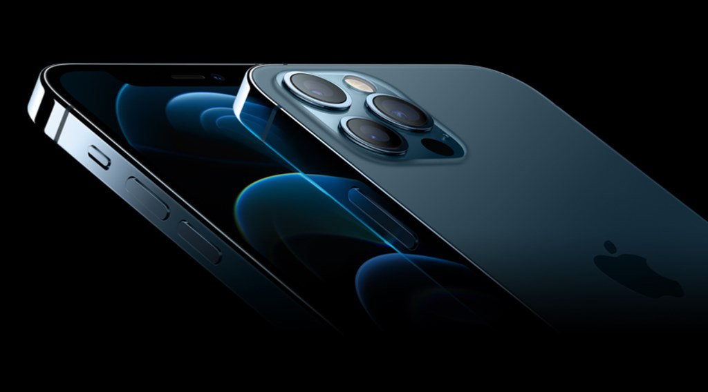 蘋果公司13日發表5G版iPhone新機,包括5.4吋iPhone 12 mini、6.1吋iPhone 12、6.1吋iPhone 12 Pro,以及6.7吋iPhone 12 Pro Max。圖為iPhone 12 Pro。(圖取自蘋果公司網頁apple.com)