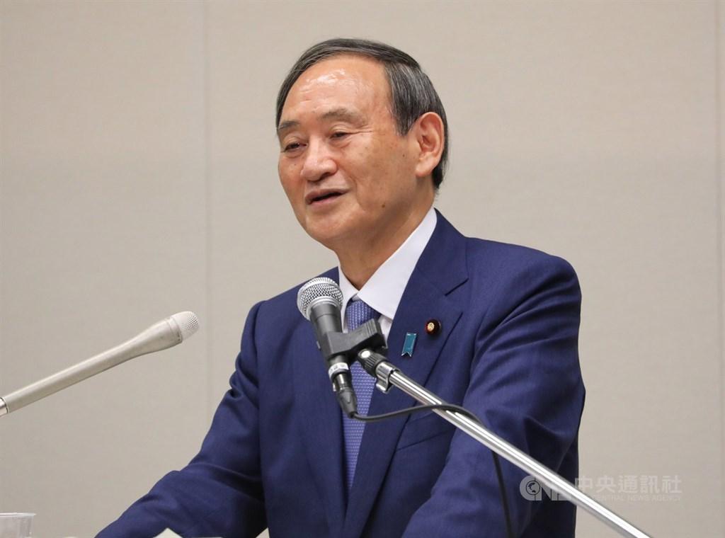 日本首相菅義偉上任以來首度出訪行程將前往越南及印尼。(中央社檔案照片)