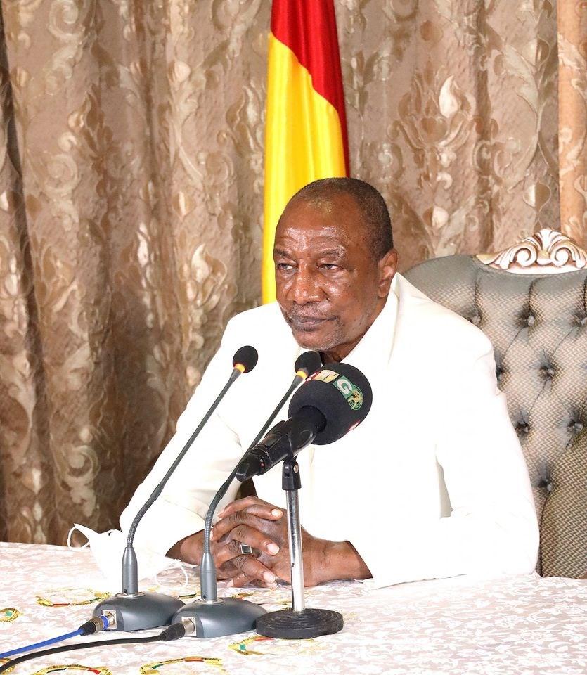 幾內亞18日舉行大選,年高8旬的總統顧德希望能在執政10年後繼續掌權。(圖取自facebook.com/AlphaCondeGuinee)