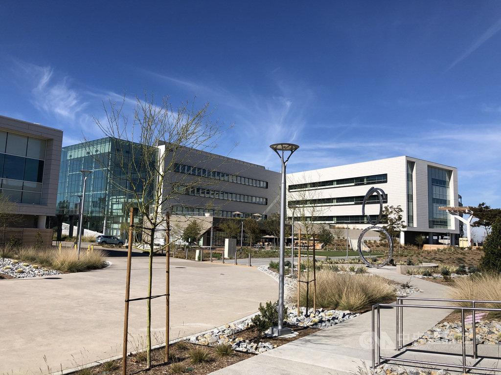 台灣企業家賴正光創辦的生物試劑大廠百進生技(BioLegend)去年5月啟用造價1億美元的生技園區,屢獲美國建築設計獎。(賴正光提供)中央社記者林宏翰洛杉磯傳真 109年10月20日