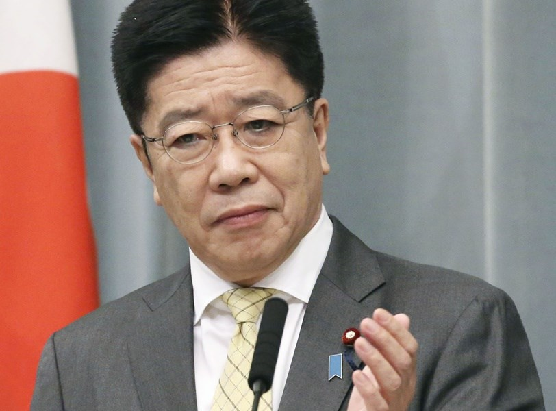 英美指控俄羅斯發動網攻企圖破壞東京奧運,日本內閣官房長官加藤勝信20日回應表示:「不能忽視企圖動搖民主主義基盤的惡意網路攻擊」。(共同社)