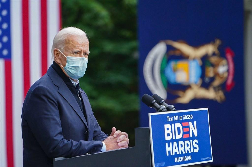 美國民主黨總統候選人拜登接受美國「60分鐘」節目訪問時說,目前帶給美國最大威脅的國家是俄羅斯,中國是最大競爭者。(圖取自facebook.com/joebiden)