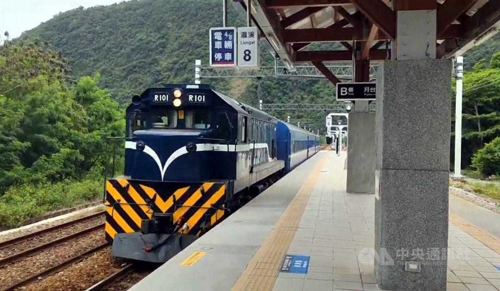 台鐵宣布,南迴線電氣化預計12月23日全線通車。圖為台東瀧溪車站。(中央社檔案照片)