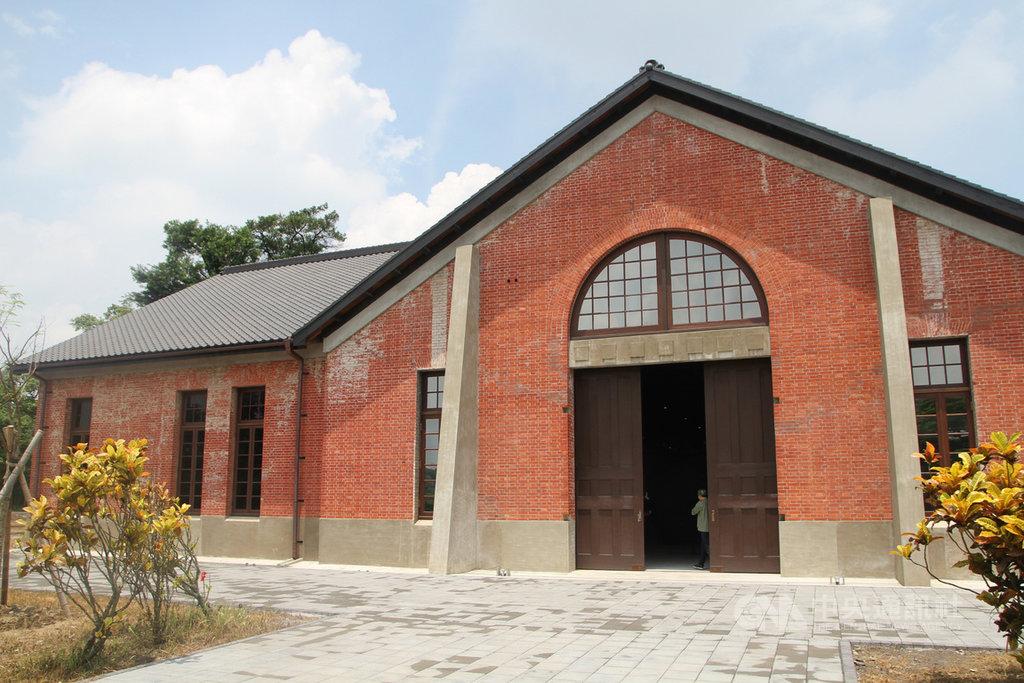 由國定古蹟原台南水道整建的台南山上花園水道博物館,開館1年多已吸引超過70萬人次遊客,並獲得第5屆文化資產保存獎。中央社記者楊思瑞攝  109年10月28日