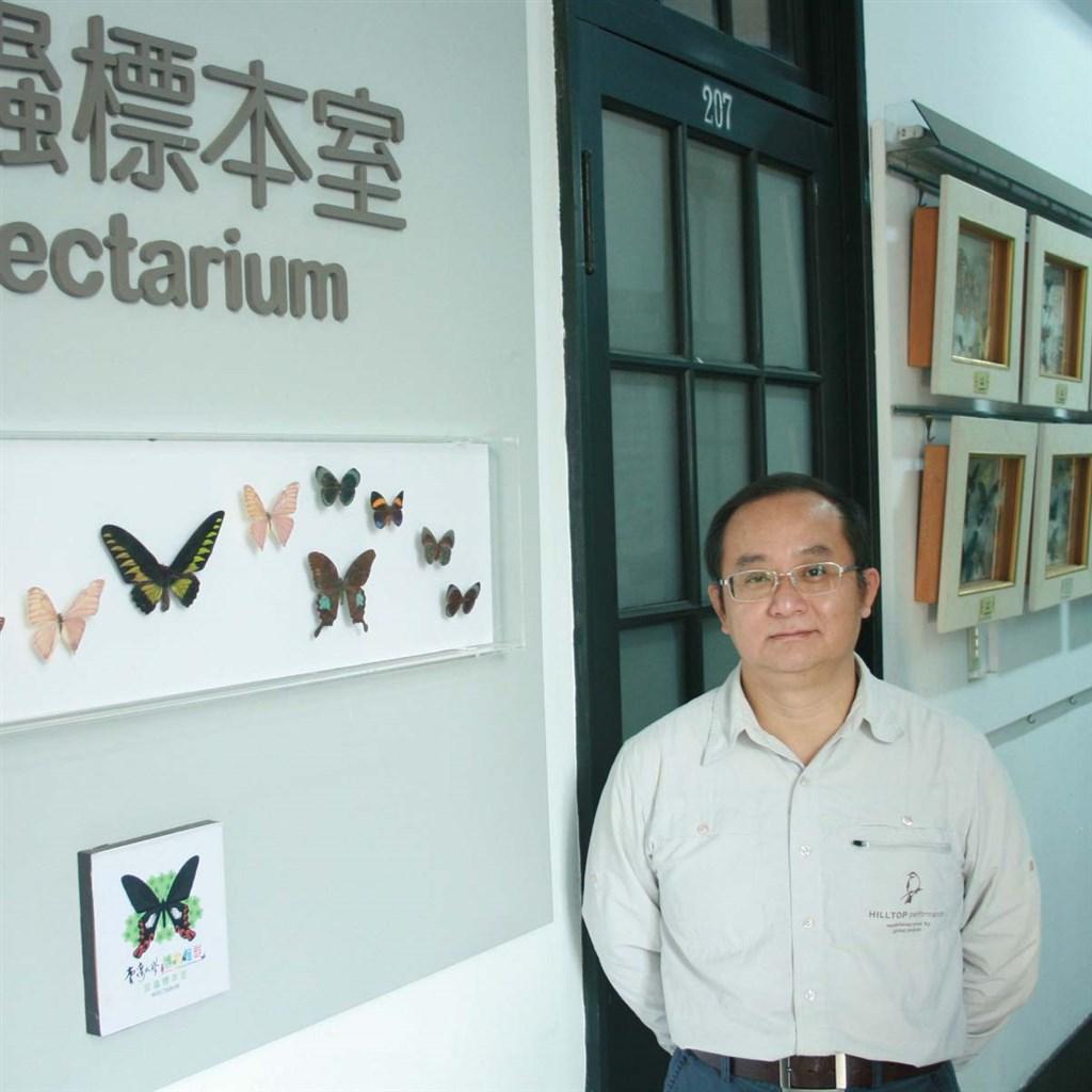 台大昆蟲系臉書29日發出柯俊成教授過世消息,並表示他是台灣唯一專攻粉蝨科分類學者。(圖取自台大昆蟲學系網頁entomol.ntu.edu.tw/Default.html)