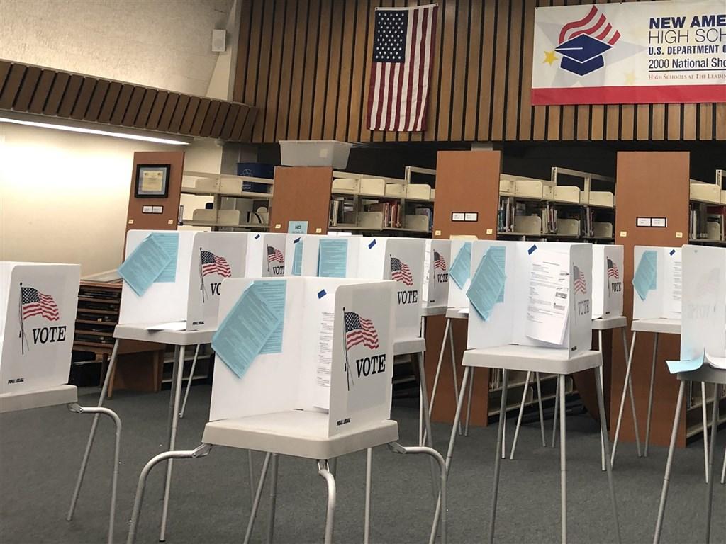 美國聯邦最高法院28日做出決定,同意賓州與北卡羅來納州延長3天接收通訊不在籍投票的選票,這項決定不利於共和黨。(中央社檔案照片)