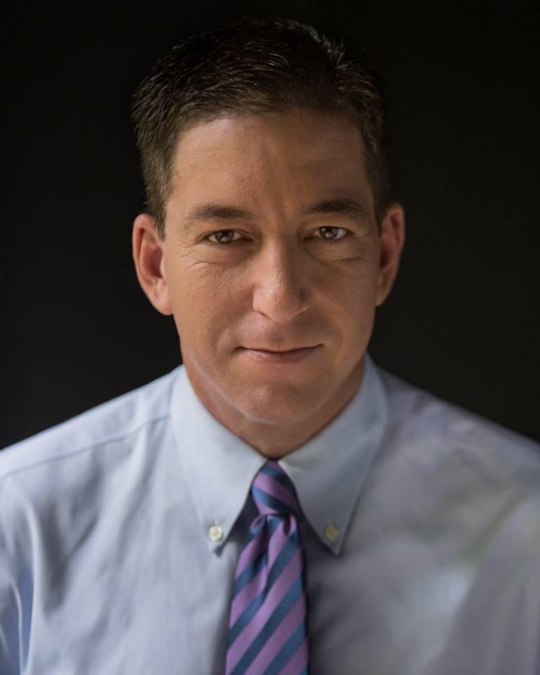 曾獲普立茲獎的記者葛林華德(圖)29日說,他所供職的新聞網站「攔截」拒絕刊登他批評民主黨總統候選人拜登的文章,因此他已辭職。(圖取自facebook.com/glenn.greenwald.5)