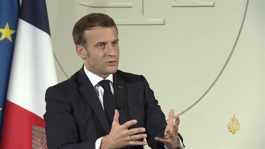 有許多國家領袖與政府近日指控法國總統馬克宏,企圖透過諷刺漫畫汙辱先知默罕默德,馬克宏表示,自己的言論遭到「斷章取義」。(圖取自Al Jazeera Channel YouTube頻道網頁youtube.com)