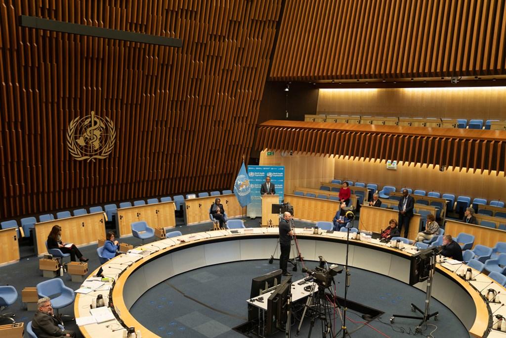 世界衛生大會排除台灣參與,10日友邦貝里斯及史瓦帝尼發言挺台,卻遭會議主席介入。(圖取自WHO網頁who.int)