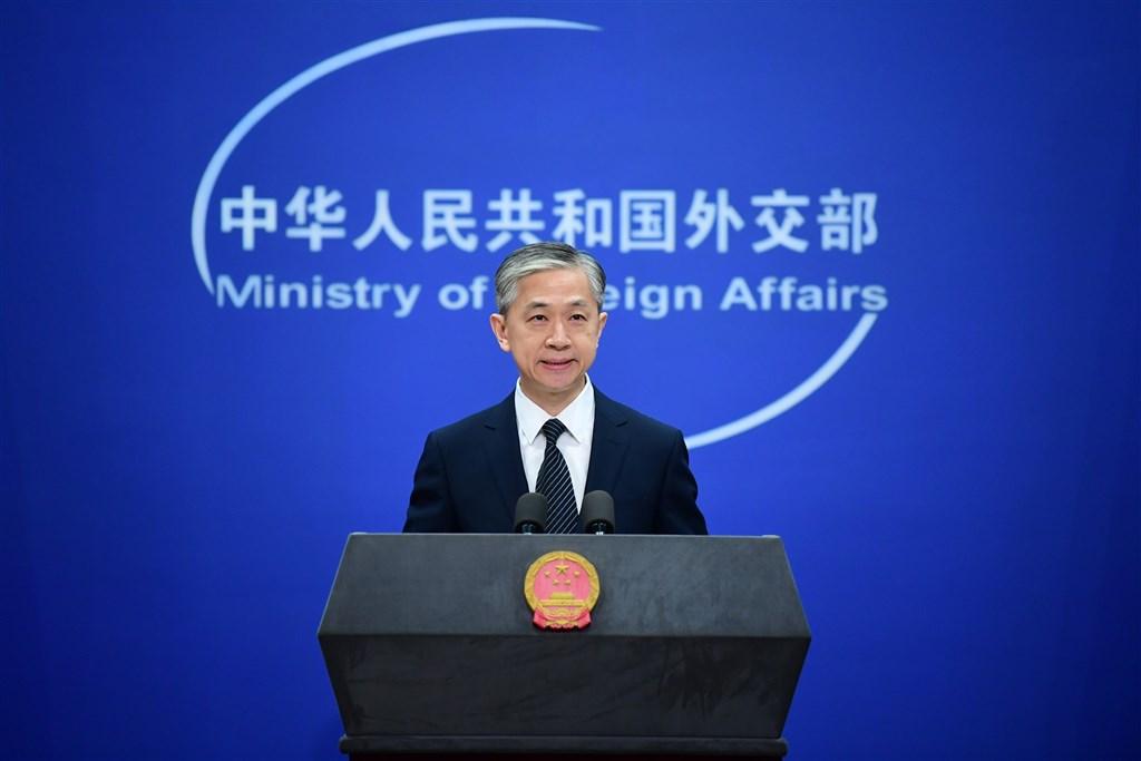 中國外交部發言人汪文斌(圖)13日向拜登和賀錦麗表示祝賀,表示中方「尊重美國人民的選擇」。(中新社)