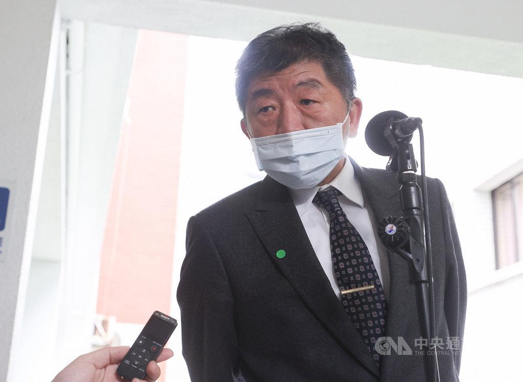 世界衛生大會(WHA)開議,大會主席裁示「邀請台灣作為觀察員參加世衛大會」不列入議程。衛福部長陳時中10日受訪表示,參與國際組織是一步一步來,每次都有一些進步,會持續努力。中央社記者謝佳璋攝 109年11月10日