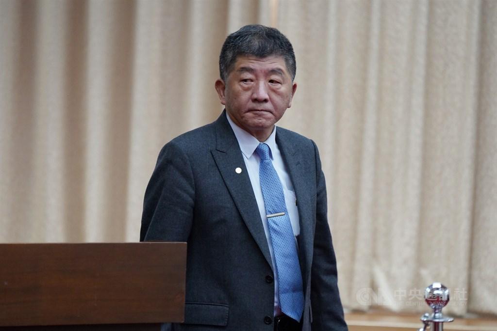 衛福部長陳時中11日表示,目前沒有能確切取得輝瑞BNT疫苗的時間,但會加速腳步,至於能購買的數量多寡,台灣則都保留選擇權。(中央社檔案照片)