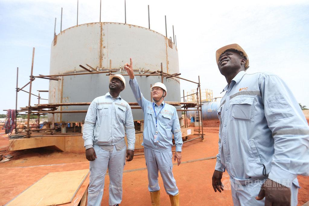 中油位於非洲查德礦區第一船95萬桶原油,預計12月初運回台灣,該礦區是中油首次以國際礦區經營者身分進行油氣探勘。(中油提供)中央社記者楊舒晴傳真 109年11月12日