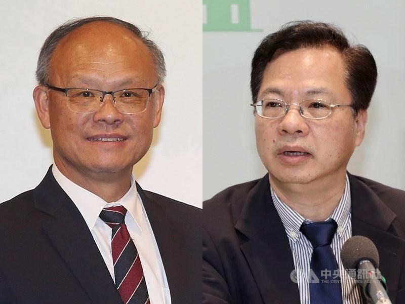 亞太經濟合作會部長級年會將在16日以視訊會議舉行,台灣由行政院經貿談判辦公室總談判代表鄧振中(左)及國發會主委龔明鑫(右)代表參與。(中央社檔案照片)