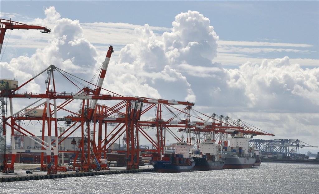日媒報導,日本、東協10國、澳洲、紐西蘭等15國15日簽署,以工業產品為主,整體的關稅廢除率達91%。圖為東京港。(共同社)