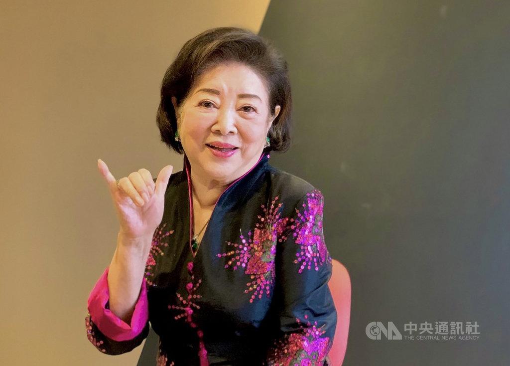觀眾熟悉的「國民阿嬤」、81歲的演員陳淑芳,踏入演藝圈逾一甲子,今年首度入圍金馬獎,就獲最佳女主角等3項提名。中央社記者葉冠吟攝 109年11月18日