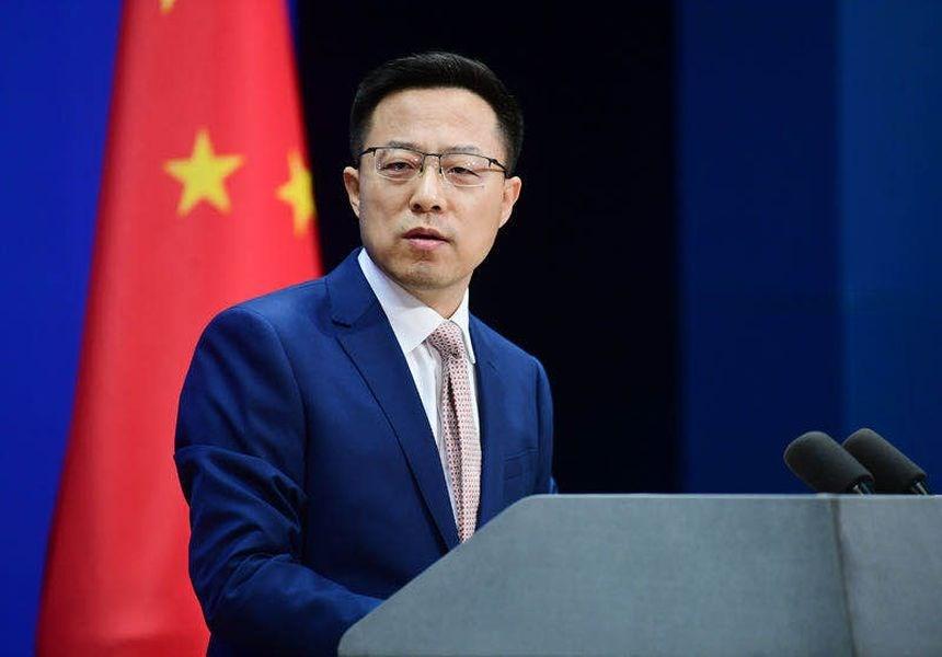 針對五眼聯盟發表聲明,對中國取消香港立法會議員資格表達嚴重關切,中國外交部發言人趙立堅19日說,中國人「從來不惹事,也從來不怕事」,只要敢損害中國的主權安全,「小心眼睛被戳瞎」。(圖取自twitter.com/MFA_China)